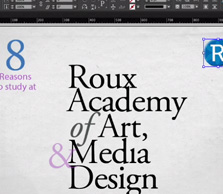 InDesign CC training