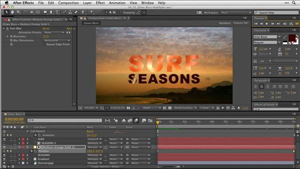 After Effects: Animating Typography