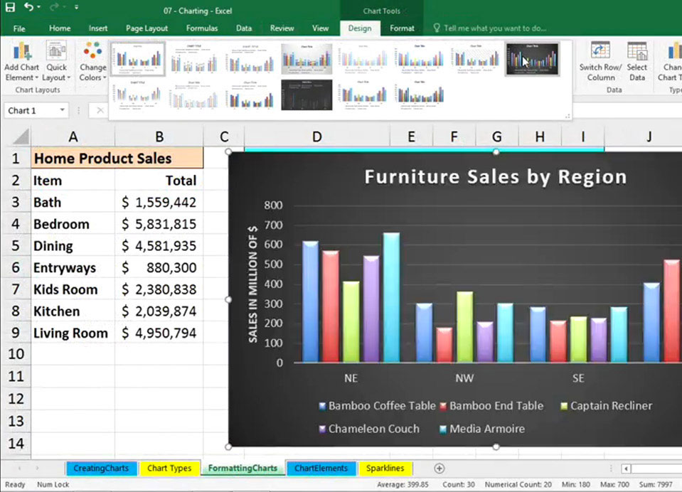 Excel 2016 Essential Training