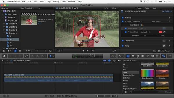 Final Cut Pro X: Color Correction