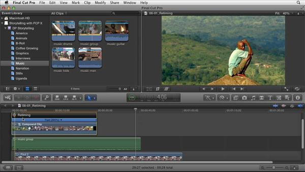 Effective Storytelling w/ Final Cut Pro