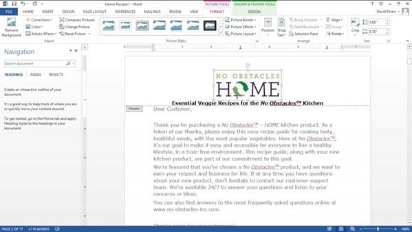 Office 365: Word Essential Training